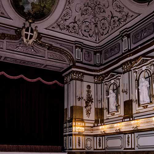 Teatrino di corte del Palazzo Reale di Napoli
