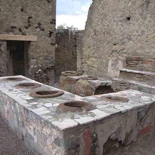Thermopolium scavi di Ercolano