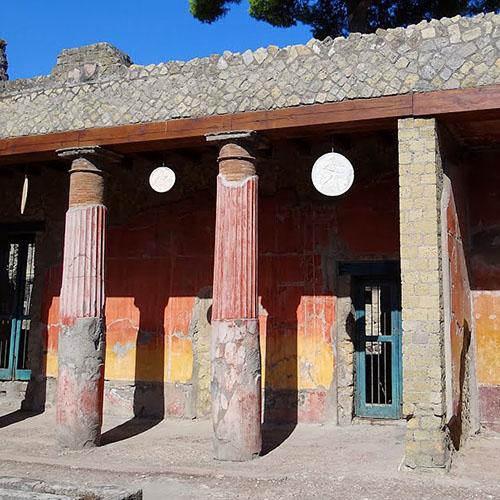 Casa del rilievo di Telefo Scavi di Ercolano