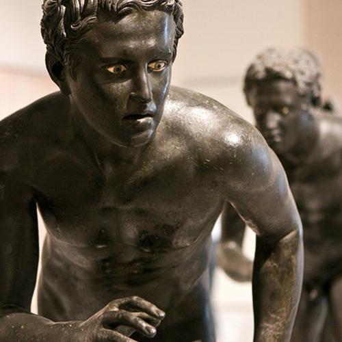 Museo Archeologico Nazionale di Napoli visita guidata con mani e vulcani