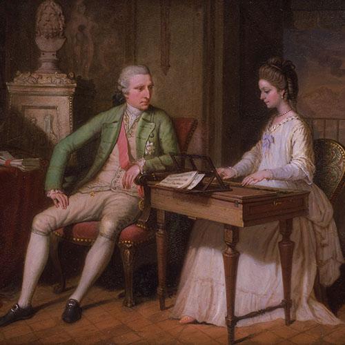 Sir william Hamilton e Lady Emma