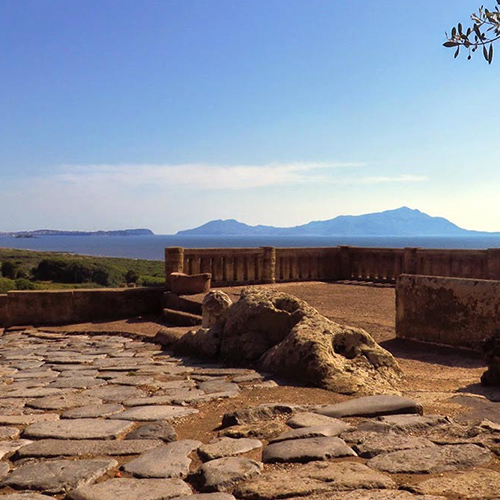 Veduta Parco Archeologico di Cuma