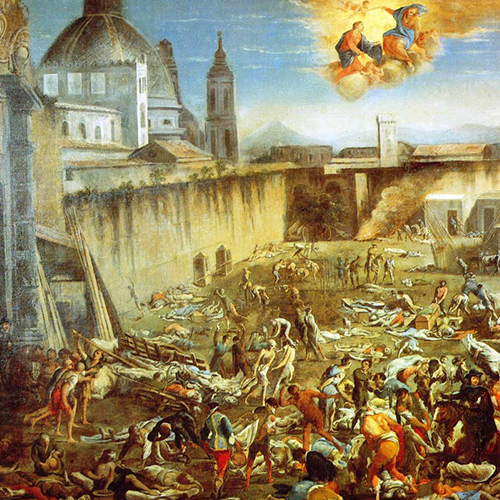 la peste a napoli 1656